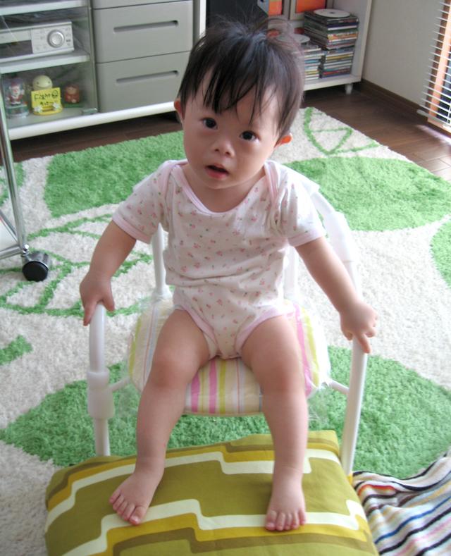 ダウン症赤ちゃん優1歳03