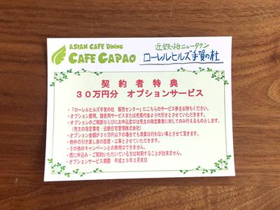 30万円分オプションサービスカード