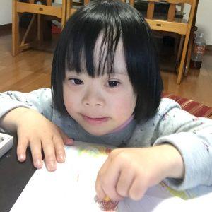 ダウン症優7歳9ヶ月