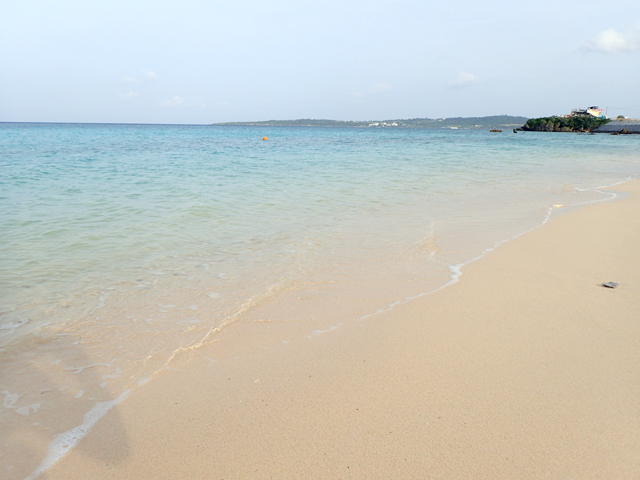 海の透明度は高い