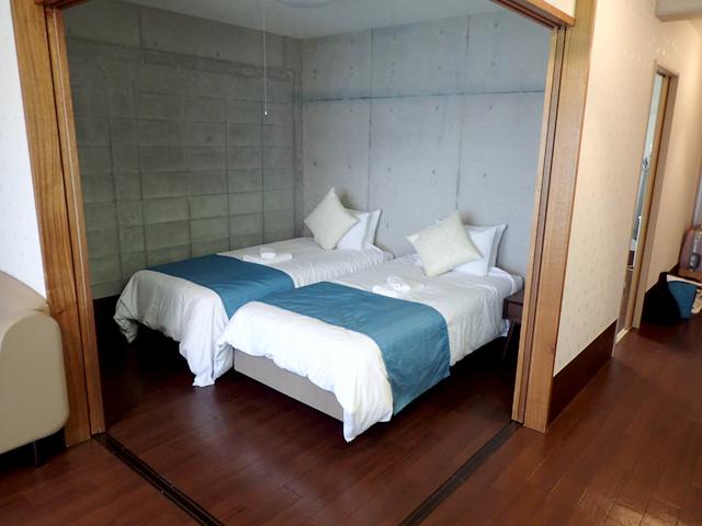 1つ目のベッドルーム