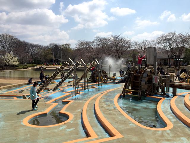 ふなばしアンデルセン公園アルキメデスの泉