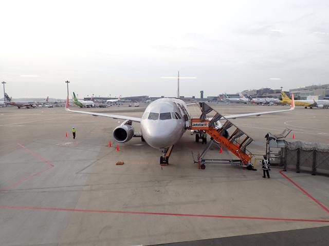 ジェットスターの旅客機