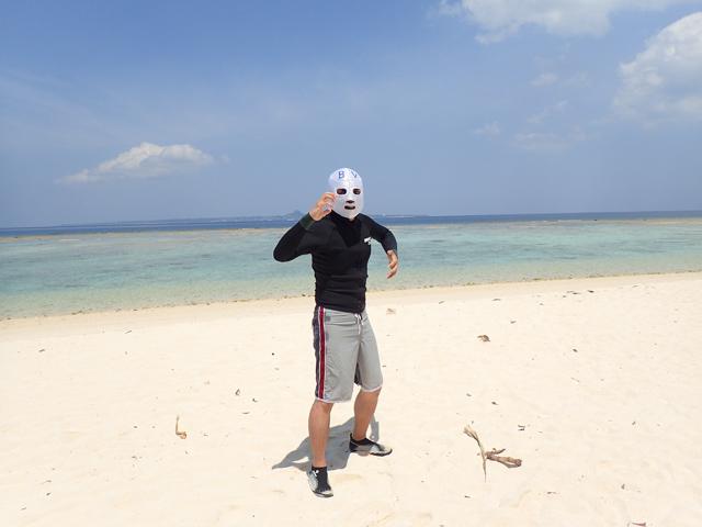 変態ビーチ仮面