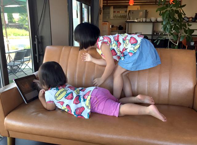 ゆすい姉妹とiPad