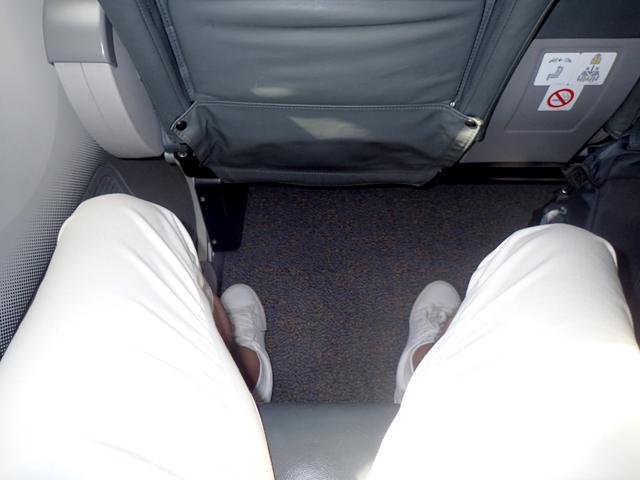 スクートビズの座席間隔