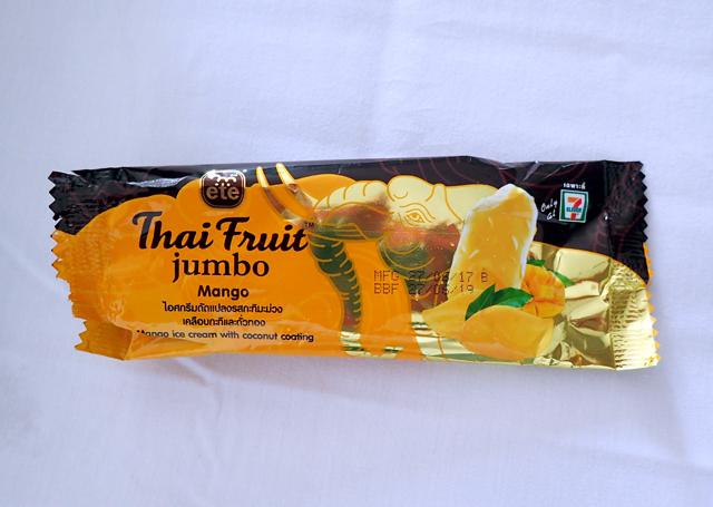 パタヤのマンゴーアイス