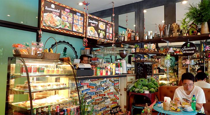 Jasmin's cafe(ジャスミンズカフェ)のメニューブック
