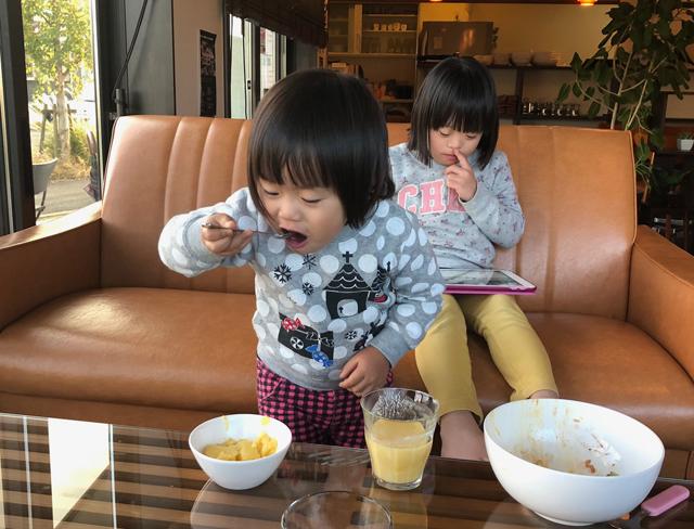 食べる翠4