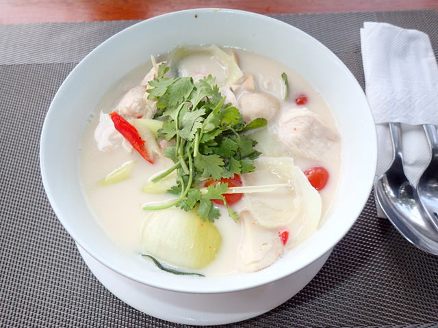SANDBAR BY THE SEA tom kha gai