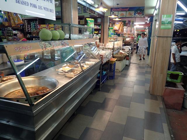 タイのサービスエリア