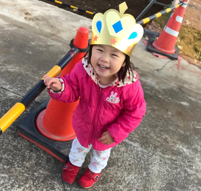 3歳の王冠翠