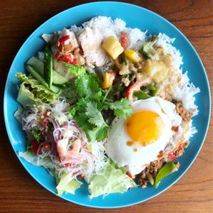 ランチボックス営業の料理例