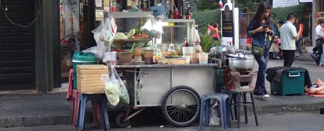 バンコク市内の衛生環境事情