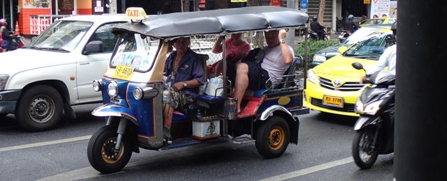 バンコク市内の観光客事情