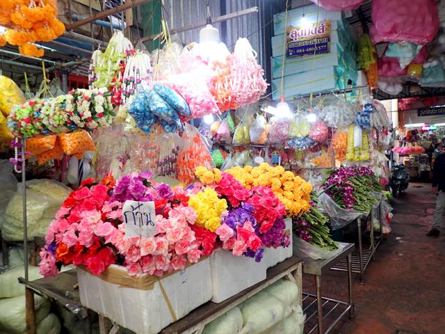パーククローン市場の花
