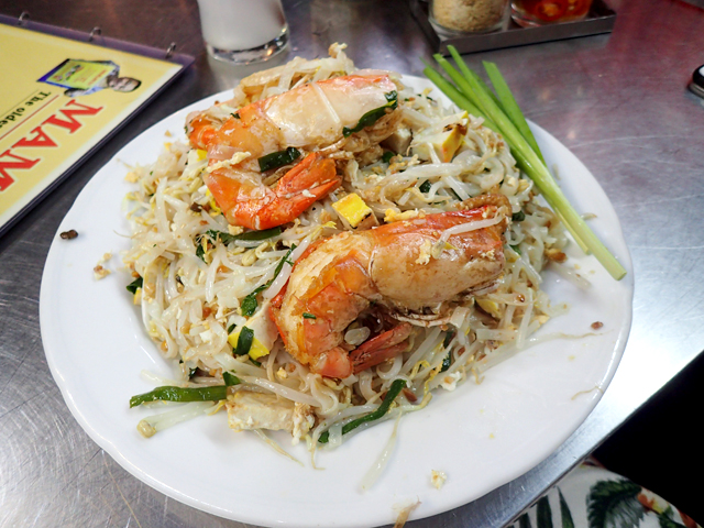 Pad Thai with Giant prawn