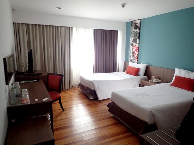 ナライホテルの客室