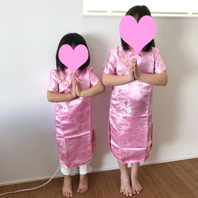 ゆすい姉妹のタイ服