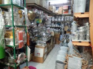 チャトチャック市場キッチン雑貨店