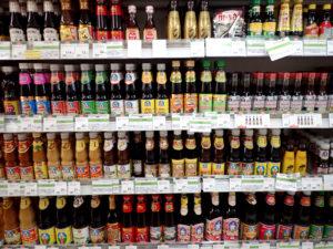 フジスーパーの調味料売り場