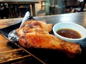ラープーガイヤーン(もも肉の焼き鶏)