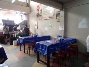 バンコクのガパオライス店ウタイ店内