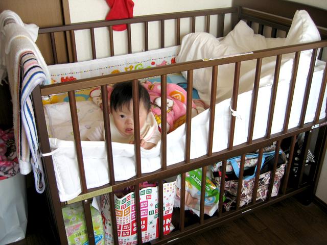 優が赤ちゃんの時